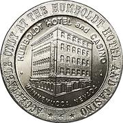 1 Dollar - Humboldt Hotel and Casino (Winnemucca, Nevada) – reverse