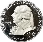 Medal - American Revolution Bicentennial (John Adams) – obverse