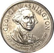 Token - Presidential Hall of Fame (George Washington) – obverse