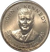 Token - Presidential Hall of Fame (John F. Kennedy) – obverse