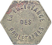 Token - The Provoyance of Proletaries – obverse