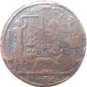 Counter Token (Wolf Lauffer II; Nuremberg) – reverse