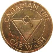Car Wash Token - Canadian Tire (Kitchener, Ontario) – obverse