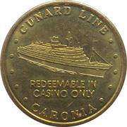 20 Pence - Cunard Line (Caronia) – obverse