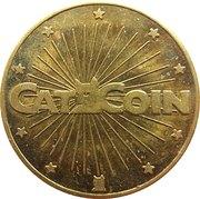 Cat Coin - No Cash Value (No denticles; 28.55 mm) – obverse