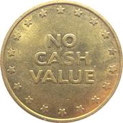 Cat Coin - No Cash Value (No denticles; 28.55 mm) – reverse