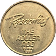 Arcade Token - Roller Roo (25 mm) – reverse