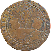 Counter token for the finance office - Charles V – reverse