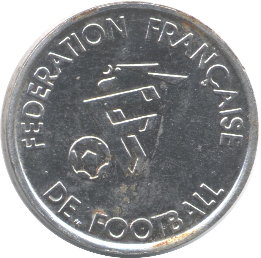 Federation francaise de football desailly tokens - Federation francaise de football de table ...