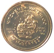 2 Oktoberfest Dollars - Kitchener-Waterloo, Ontario – reverse