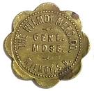 10 Cents - The Wilmot Mercantile Co. (Wilmot, South Dakota) – obverse