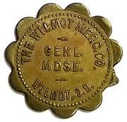 50 Cents - The Wilmot Mercantile Co. (Wilmot, South Dakota) – obverse