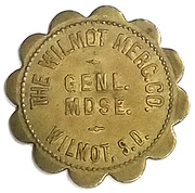 1 Dollar - The Wilmot Mercantile Co. (Wilmot, South Dakota) – obverse