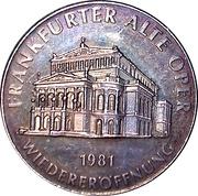 Token - Frankfurter Alte Oper Re-opening – obverse