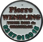 Shopping Cart Token - Pierre Wendling – obverse