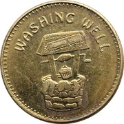 Laundry Token - Washing Well – obverse