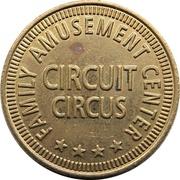 Token - Circuit Circus Family Amusement Center – reverse