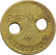 50 Pfennig - Elb Schloss Brauerei (Nienstedten) – obverse