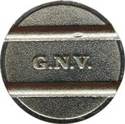Token - Grandi Navi Veloci (Genova) – reverse