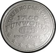 Amusement Token - Paco Fun World – obverse