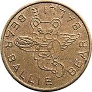 Arcade Token - Ballie Bear (Richmond, British Columbia) – obverse