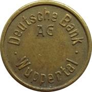 Token - Deutsche Bank (Wuppertal) – obverse