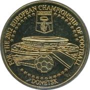 Token - UEFA Euro 2012 (Donetsk, Ukraine) – obverse