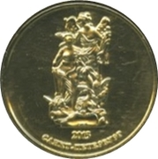 Token - Saint Petersburg (Palaces of the Russian Museum - Summer Palace of Peter the Great) – reverse