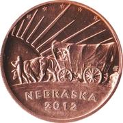 Token - Gering, Nebraska 125th Anniversary – reverse