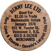 1 Dollar - Benny Lee Ltd – obverse