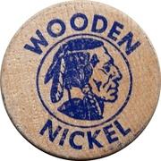 Wooden Nickel - Watford Centennial – reverse