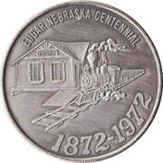 Token - Edgar, Nebraska Centennial – obverse