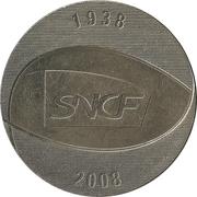 Token - 70th anniversary of SNCF – reverse