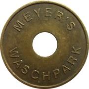 Car Wash Token - Meyer's Waschpark – obverse