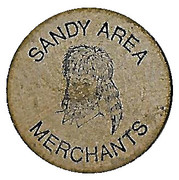 5 Cents - Sandy Area Merchants (Sandy, Oregon) – obverse
