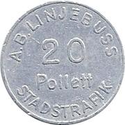 20 - A.B. Linjebuss (Landskrona, Skåne) – obverse