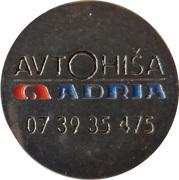 Shopping Cart Token - Avtohiša Adria (Novo mesto) – obverse