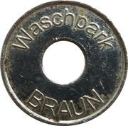 Car Wash Token - Waschpark Braun – obverse