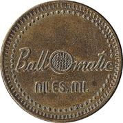 Token - Ball O matic (Niles, Michigan; 28 mm; without mintmark) – obverse