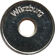 Car Wash Token - Hydrostar (Würzburg) – reverse