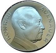 Token - Conrad Adenauer – obverse