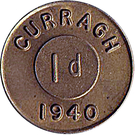 1 Penny - Curragh Internment Camp – obverse