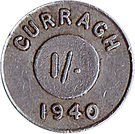 1 Shilling - Curragh Internment Camp – obverse
