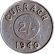 2 Shillings - Curragh Internment Camp – obverse