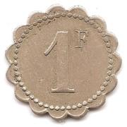 1 Franc - Mines de Timezrit – reverse