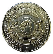 1000 Réis (400th Anniversary of the Discovery; Replica) – obverse