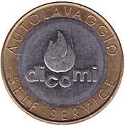 Car Wash Token - Dicomi (Milano) – reverse