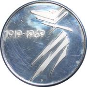 Medallion - 50 years Gymnastics Company, Graubundun – obverse