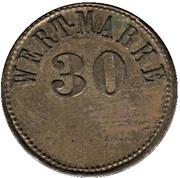 30 Pfennig (Wert-Marke) – obverse
