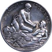 Medallion - Celebration of the Badenfahrt festival 1967 – obverse